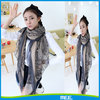 2016 wholease 100% polyester ladies fashional scarves