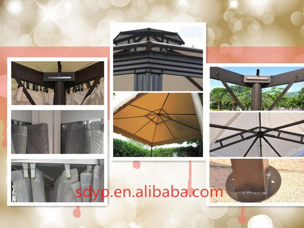 outdoor sunshade rome gazebo hexagon pergola for sale buy gazebo winter cover outdoor gazebo. Black Bedroom Furniture Sets. Home Design Ideas