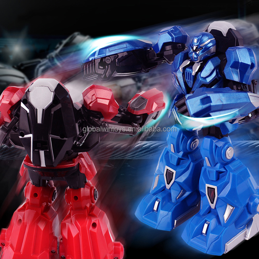 2015 kids fighting robot toy! infrared control rc robots for sale with led & music GW-T3888-1