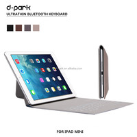 New Hot-selling Ultrathin Wireless Bluetooth Keyboard Stand Case Cover For ipad mini 12 3 4