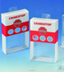 Custom soft crease transparent PET/PVC/PP clear plastic folding packaging boxes