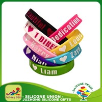 Advertising Silicon Wristband silicone bracelets