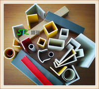 Factory Supply GRP Square Tube 101*101*5mm