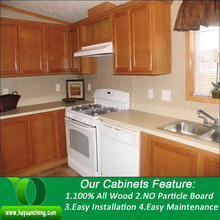 Best Sense Home use modular wooden kitchen cabinet with granite countertops
