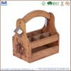 Art minds wooden crafts wooden wine holder wholesale , wooden wine box for home decor