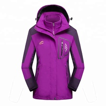 wholesale outdoor sport climbing twinset couple coat thicken fleece cotton warm hiking jacket