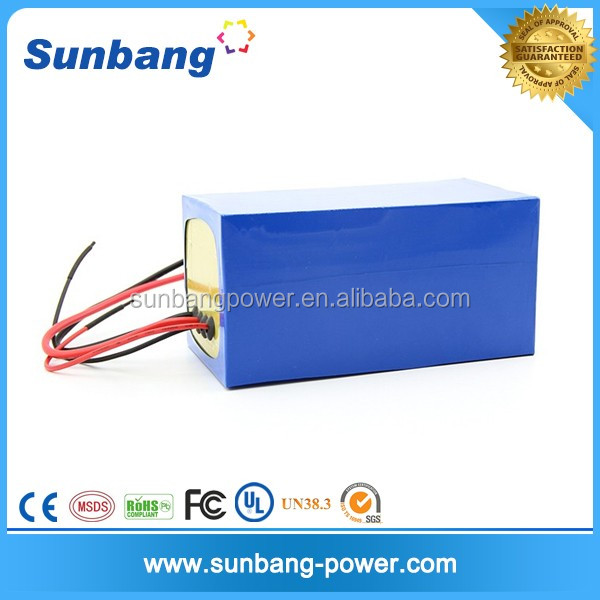 48V 20Ah LiFePO4 battery lithium power battery for electric bike motor tricycle