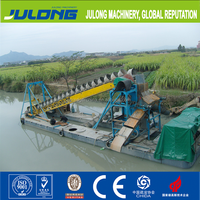 High performance 60m3 vibrating chute type gold mining dredger/machinery for sale
