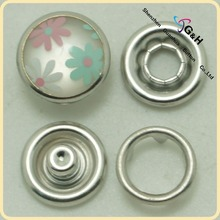 Colorful Customized Metal Fasteners For Fabric For Clothes