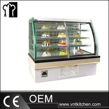 European Style Open Front Type Refrigerated Deli Case