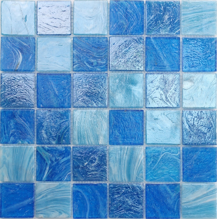 Wholesale glass blue pool mosaic - Online Buy Best glass blue pool ...