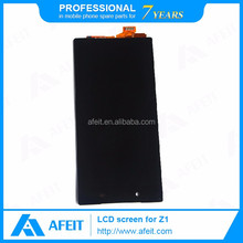 China wholesale price for sony xperia z1 c6903 lcd,for sony xperia z1 lcd screen