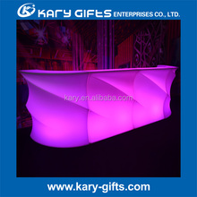 led illuminated outdoor bar furniture led bar counter