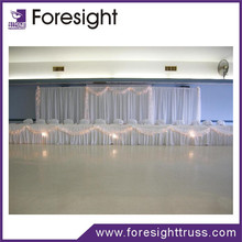 wedding curtains and draperies with aluminum pipe