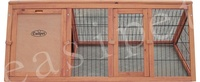Rabbit Guinea Pig Portable Wooden Hutch 1180mm size , Wood Pet House easipet 385