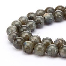 Nice Smooth Round Labradorite Gemstone Loose Beads