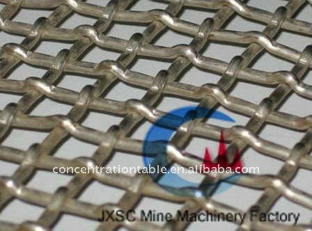 Stainless Steel Crimped Wire Mesh Screen(From Manufacturer)