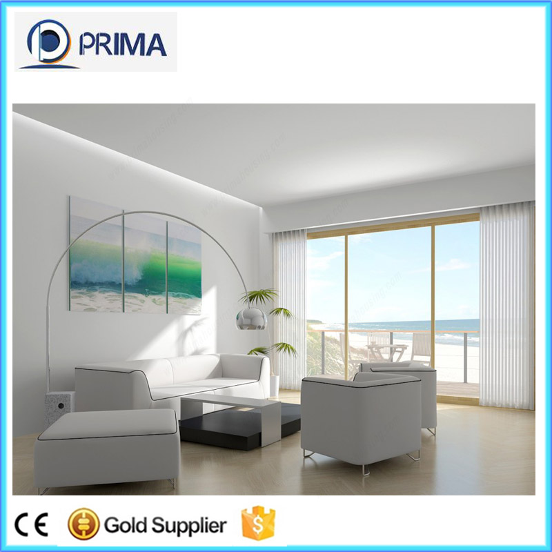 Hot sale china aluminum single pane sliding windows