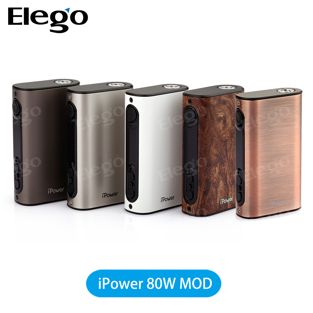 100% Original Eleaf ipower 80w mod suit for Griffin 25 RTA /Smok TFV8