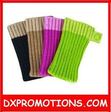 cotton knitted socks for phone,elastic,one size fit most