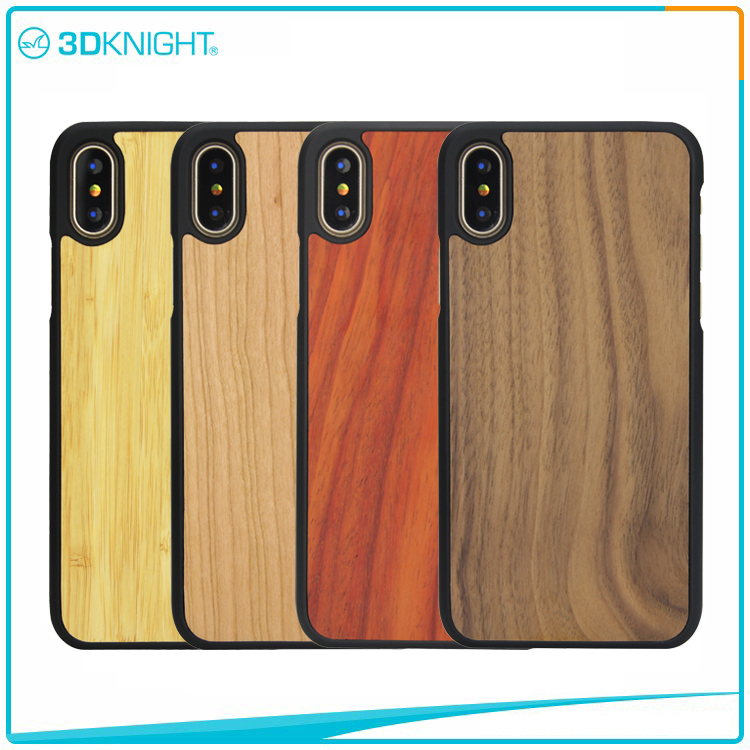 Fashion Wooden Cell Phone Case for Iphone X,Wholesale For Apple Phone Case