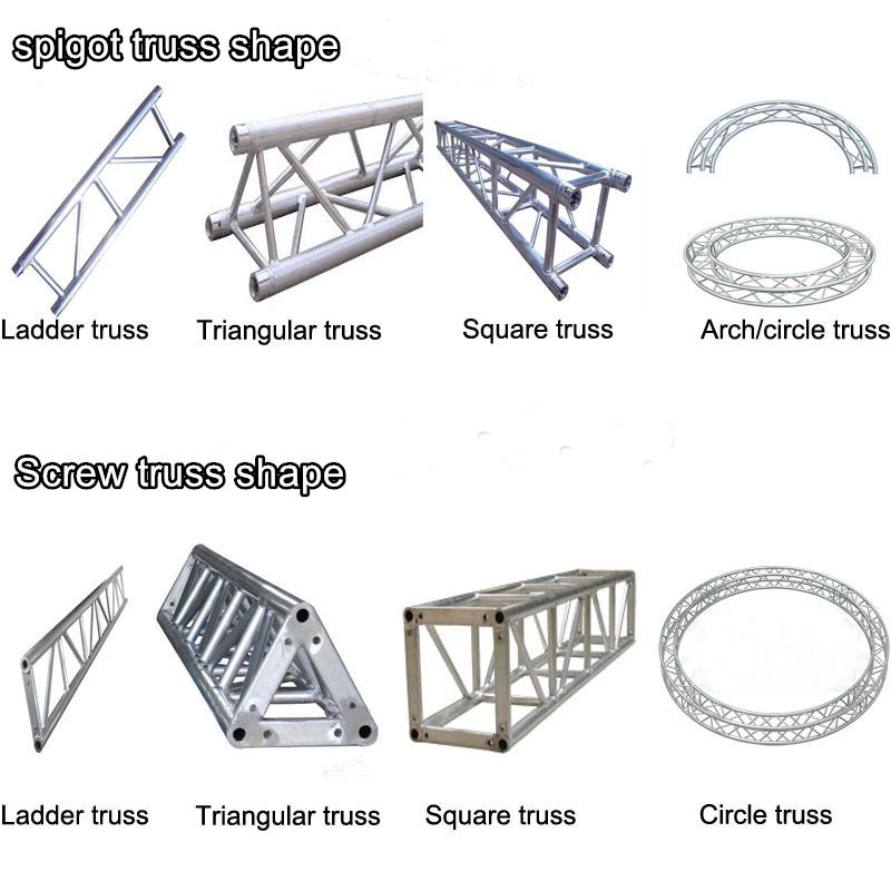 500 600mm concert stage truss cheap lighting truss for for Cheap trusses for sale