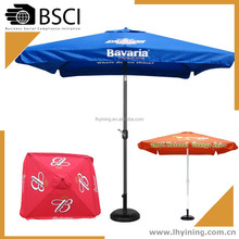 10 feet coffee printing umbrella 300cm brand printing parasol 270cm patio advert umbrella parasol