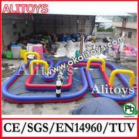 Car race inflatable run sport games for new style Car race inflatable