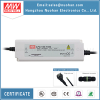 Mean Well 150W 1400ma Constant current led driver ac-dc led driver