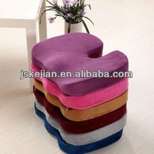 Multifunctional cushion inflatable donut seat cushion for hemorrhoids