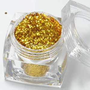 Solvent resistance Glitter powder for paint/nail polish