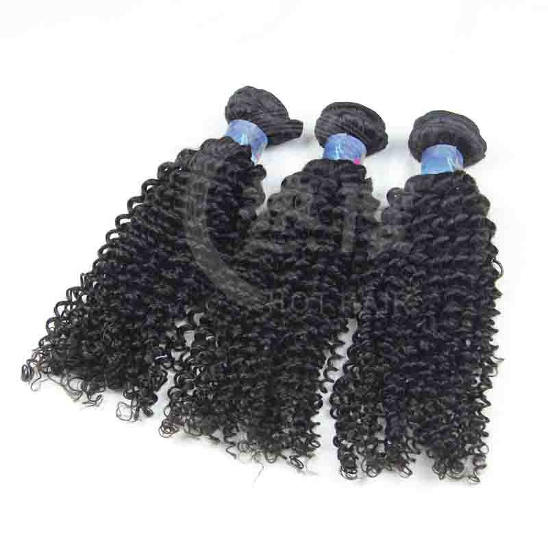 Stylish Factory Price,100% Virgin Human Hair Weaves Persian Kinky Curly hair