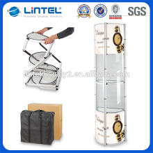 Good stable folding exhibition tower display stand for advertising