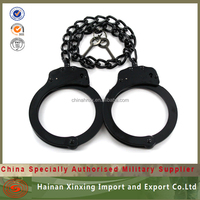 police leg irons stainless steel bracelets handcuffs police