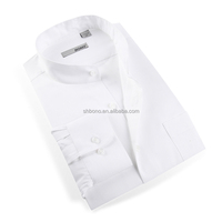 Mens Business Shirts White Dress Shirts with CMT price
