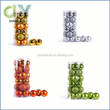 Hot selling 24X 6CM Christmas Balls / Party Wedding Decoration christmas ornaments
