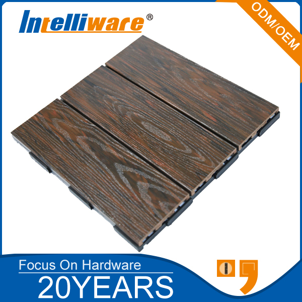 WPC Waterproof Cheap Composite Decking Tiles