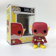 Comic ver. The Flash Funko pop Collectible PVC action figures