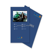 Factory supply Top Quality Bespoke 4.3 and 7 inch LCD video postcard For business gift