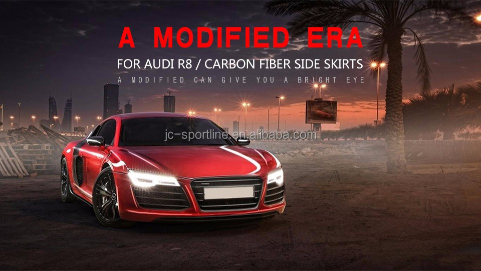 New arrival Carbon R8 Body Kit for AUDI R8 Plus Coupe 2-Door 08-15