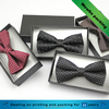 fashion custom decorative bow tie packaging paper gift box