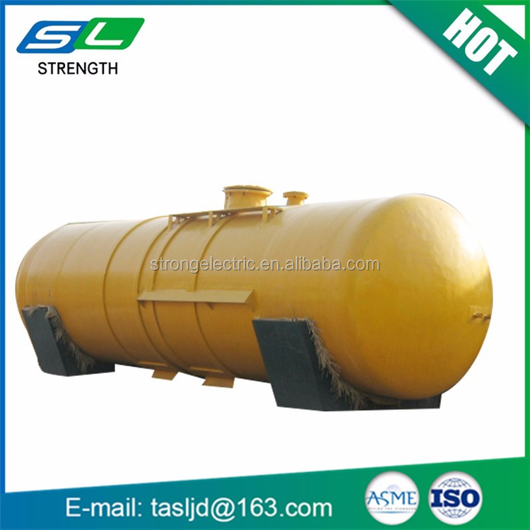Customized double wall underground fuel ASME storage tank from pressure vesel manufacturer