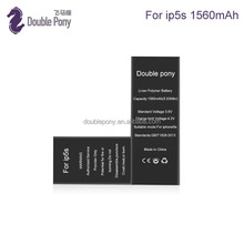 Brand New Original zero cycle quality 1560mAh Replacement Li-ion Battery For iphone 5S 5C