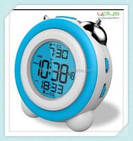 2015 top best selling digital clock round with CE and ROHS for home decoration