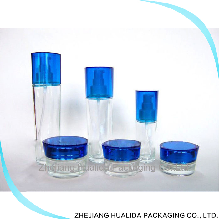 Products cosmetic packaging Glass Eye Cream Jar wholesale