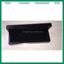 top grade piano black lacquer finish wooden pencil box