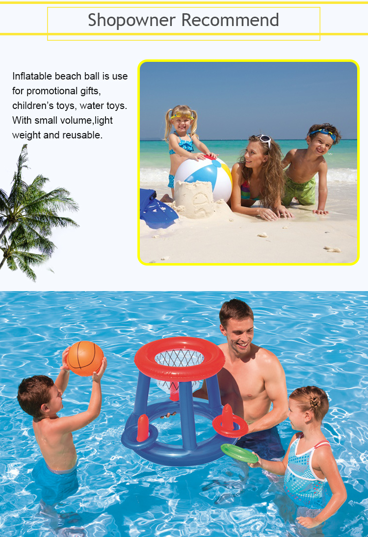 2017 Top Seller! Customized Logo Printing PVC Promotional Inflatable Beach Balls