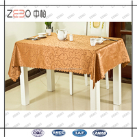 Banquet or Party Used Colorful Cheap Rectangle Jacquard Tablecloths