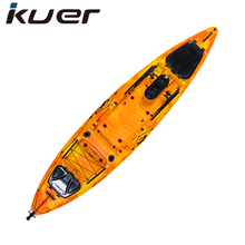 roto molded plastic fishing boat from cool kayak