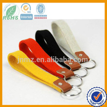 Fashion Custom Felt Laser Cut Keychain, Promotional Cute Felt Key chain